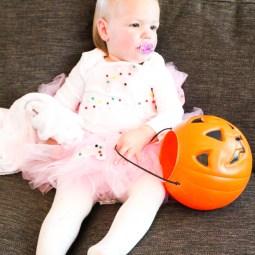 Easy No Sew Toddler Halloween Costume