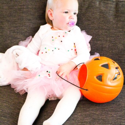 Easy No Sew Toddler Halloween Costume