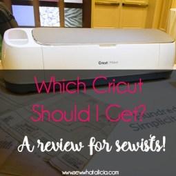 Best Cricut Machine for Sewing?