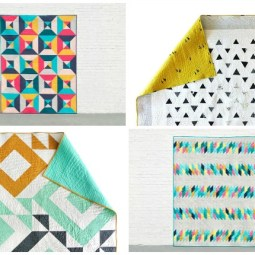 10+ Beautiful Modern Quilt Patterns