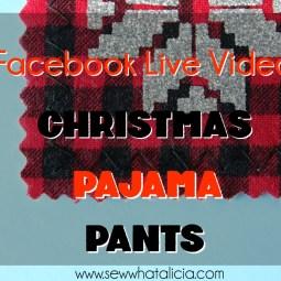 How to Make Christmas Pajama Pants