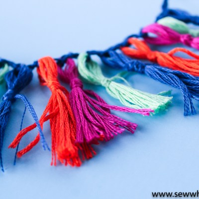 Handmade Fringe Trim Tutorial