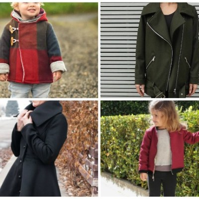 Jacket Sewing Patterns for the Whole Family: These patterns are perfect now that the weather is cooler. Click through for a full list of jacket sewing patterns for the whole family. | www.sewwhatalicia.com