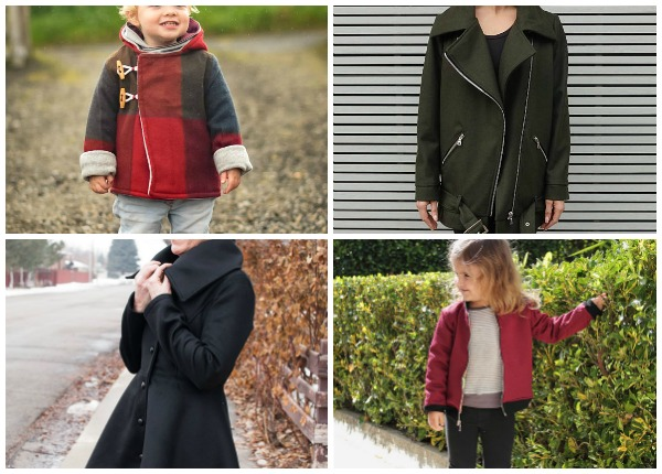 Jacket Sewing Patterns for the Whole Family