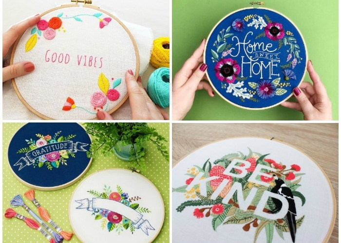 10+ Fabulous Floral Embroidery Designs