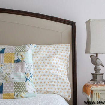 How to Sew Easy Custom Pillow Cases