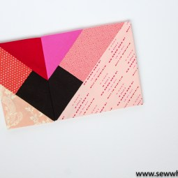 Geometric Heart Paper Piecing Patterns