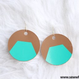 How to Make Leather Earrings with Cricut