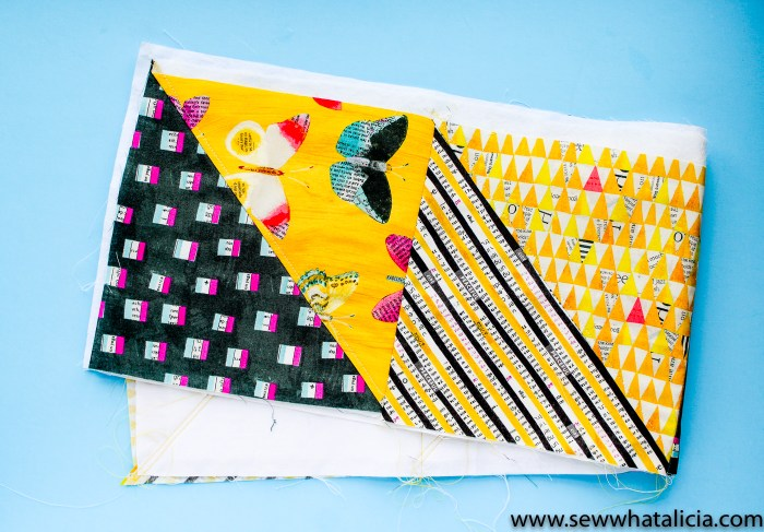 How to Quilt As You Go: This tutorial for quilt as you go will teach you everything you need to know in order to learn to quilt as you go. Click through for all the tips and tricks. | www.sewwhatalicia.com
