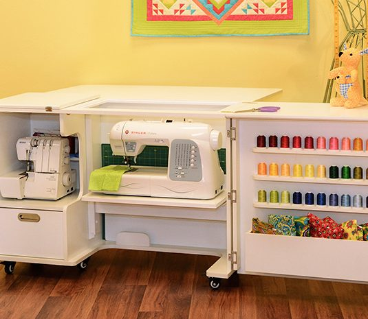 Best Sewing Machine Cabinet: Wallaby II | www.sewwhatalicia.com