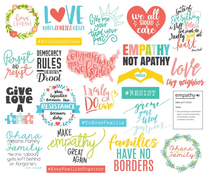 Justice Artwork Bundle: Cut Files and Printables, all proceeds go to charities supporting separated families and children. | www.sewwhatalicia.com