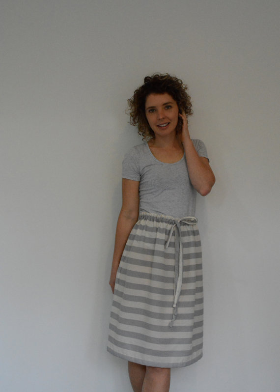 Skirt Sewing Patterns for Women and Girls: Drawstring Skirt   www.sewwhatalicia.com