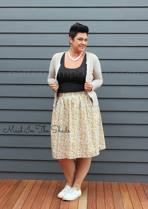 Skirt Sewing Patterns for Women and Girls: Gathered Skirt | www.sewwhatalicia.com