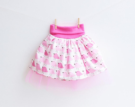 Skirt Sewing Patterns for Women and Girls: Woodland Tulle Skirt   www.sewwhatalicia.com