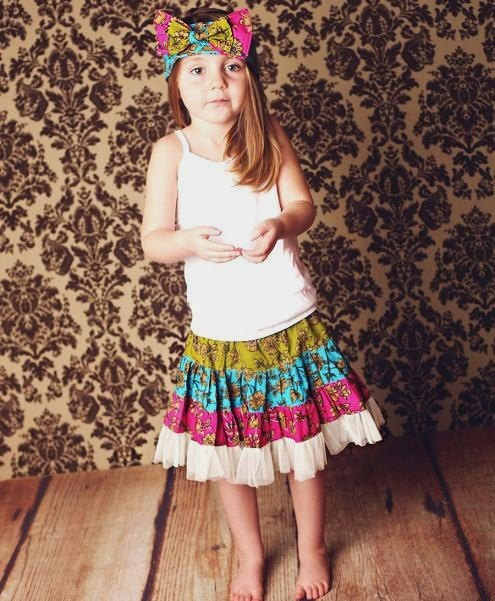Skirt Sewing Patterns for Women and Girls: Swirly Skirt | www.sewwhatalicia.com