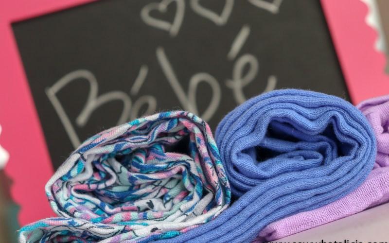 Easy Gauze Fabric Receiving Blankets