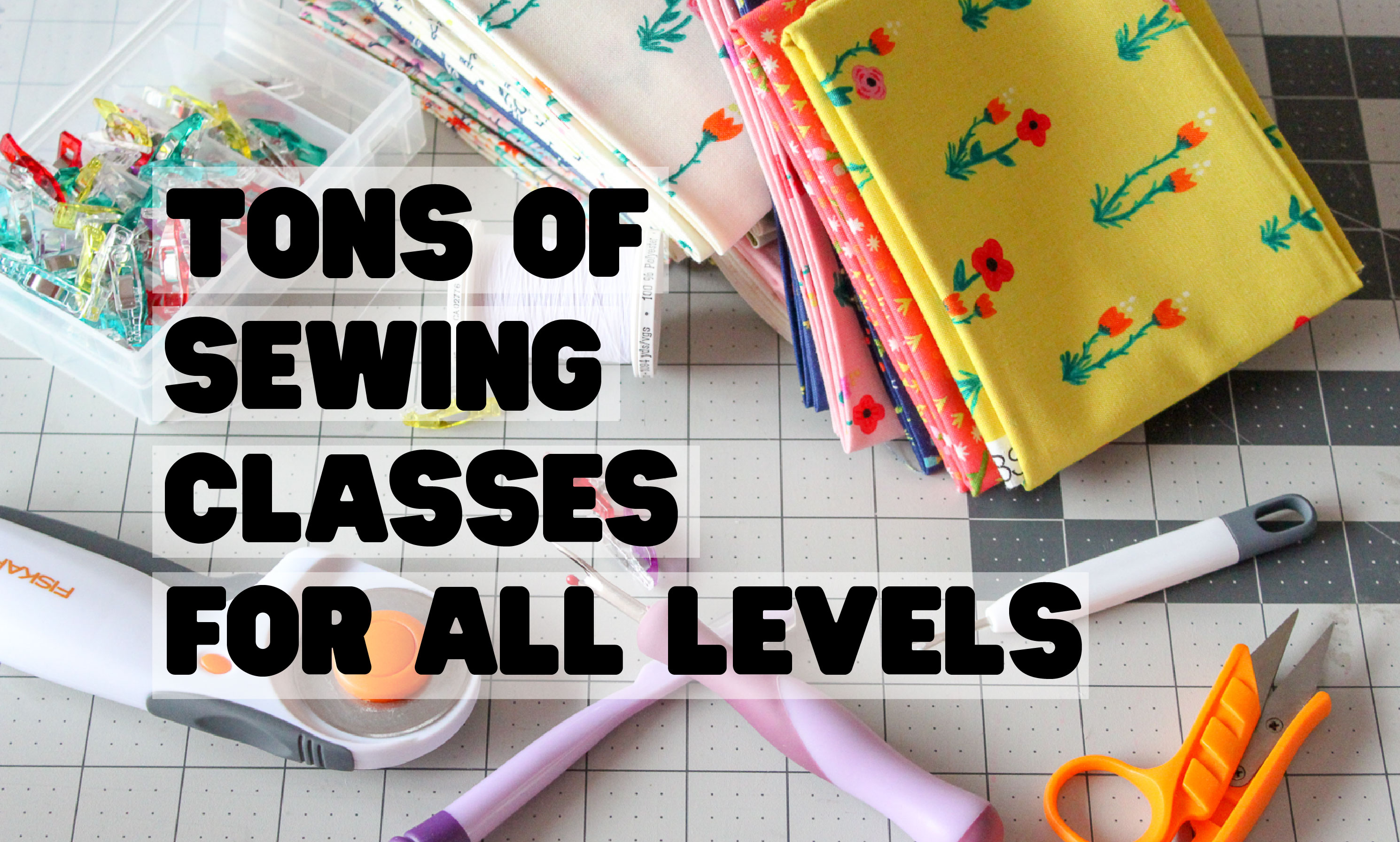 Tons Of Sewing Classes For All Levels Sew What Alicia