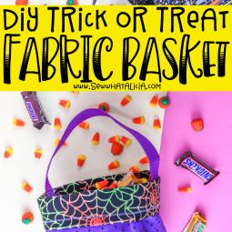 DIY Trick or Treat Bag – Plus a Video Tutorial