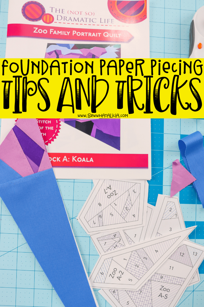 Foundation Paper Piecing Tutorial: Learn the foundation paper piecing techniques with this foundation paper piecing tutorial. Click through for tons of tips and tricks. | www.sewwhatalicia.com