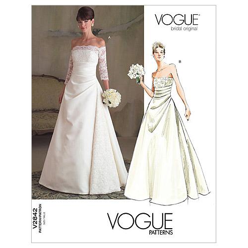 pictured vogue strapless wedding gown