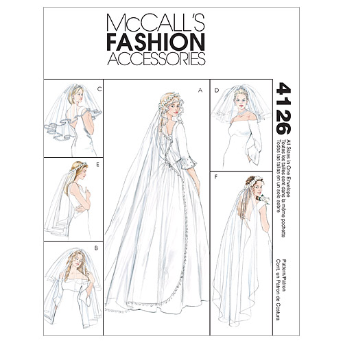 pictured wedding veils pattern cover