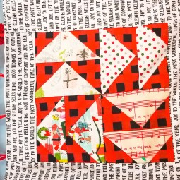 Flying Geese Quilt Block Tutorial