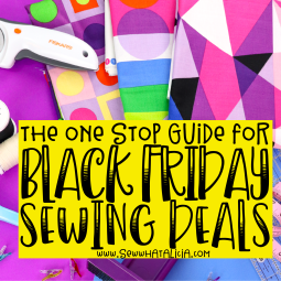 Black Friday Sewing Deals and Sales