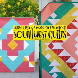 Modern Southwest Quilt Patterns