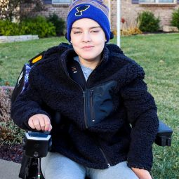 DIY Wheelchair Coat with an Open Back