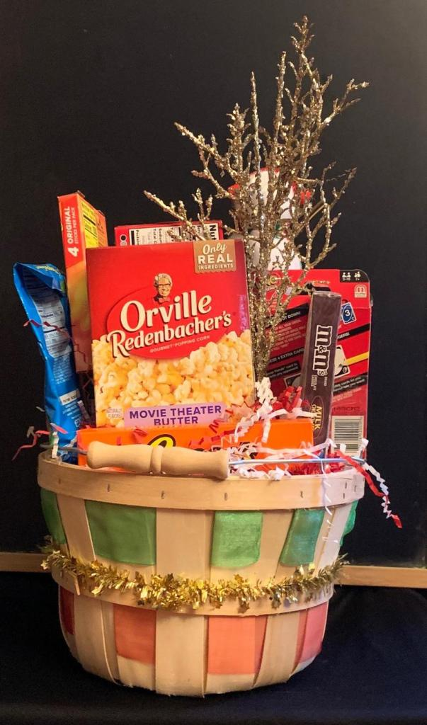 Family Holiday Game Basket