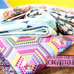 Longarm Quilting – Tips for Sending your Quilt Out