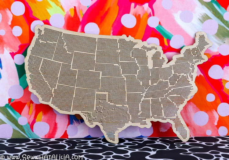 Easy Fabric DIY Photo Backdrop