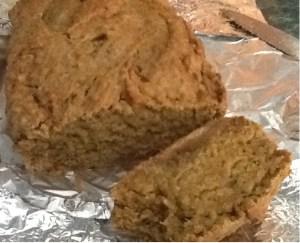 orange zucchini blender loaf