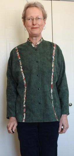 Skyelines in green flannel
