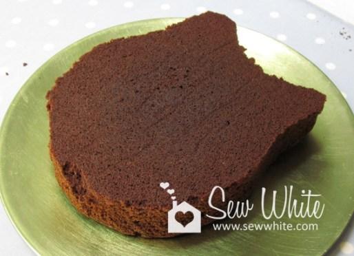 sew white owl cake 2