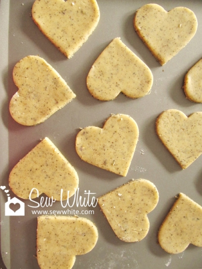 Lavender and Lady Grey Biscuits ready to bake