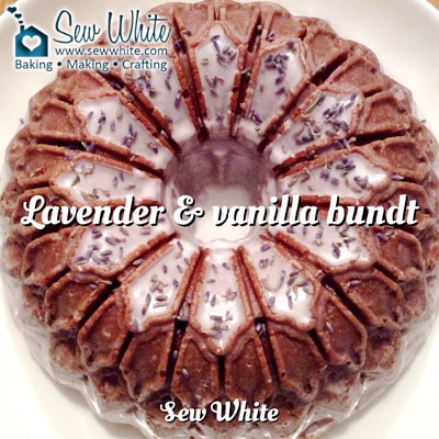 Sew White Lavender and Vanilla Bundt Recipe 1