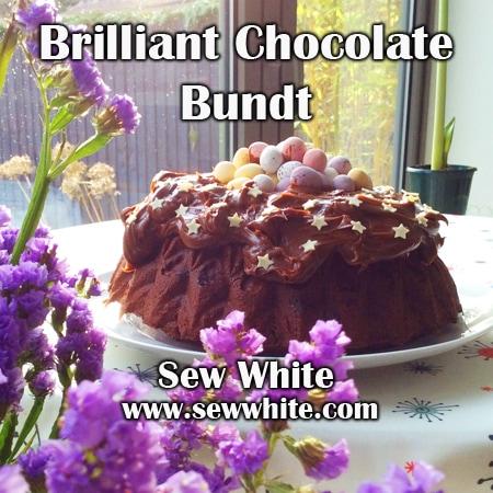 Sew White brilliant chocolate bundt 6