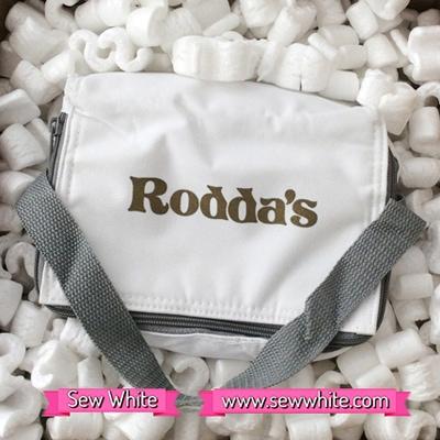 Sew White Roddas cream scones tea 1