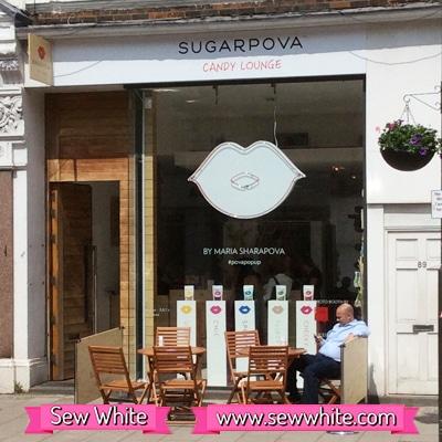 Sew White sugarpova wimbledon 1