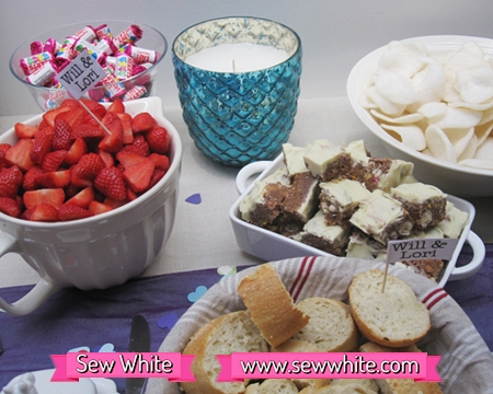 Sweet treats and delicious food