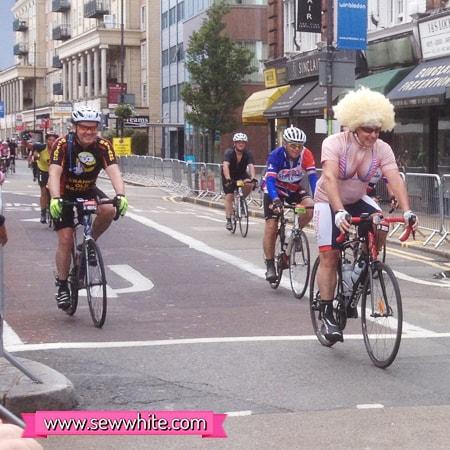 Sew White Ride London 100 Classic 2