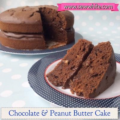Sew White Chocolate & Peanut Butter Cake 1