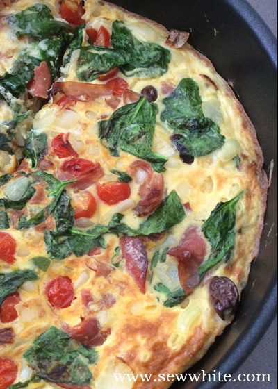 Sew White Sainsbury's free range eggs 3 omelette recipe