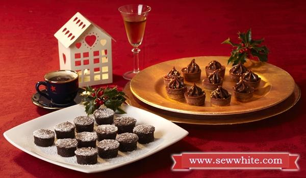 delicious bitesize treats for Christmas