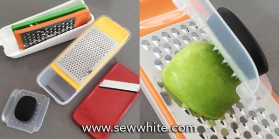Sew White apple pancakes recipe fruit salad mothers day 2