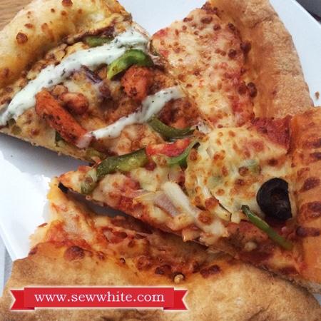 Sew White Papa Johns Pizza Night 7