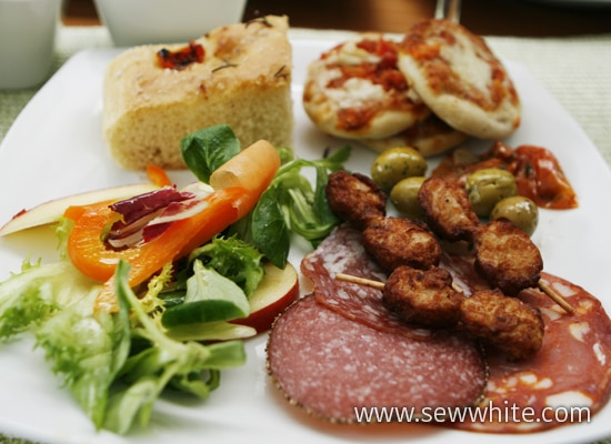 Sew White summer food 5
