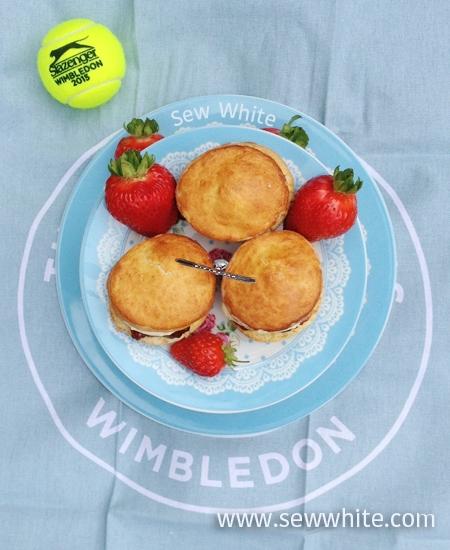 Wimbledon afternoon tea