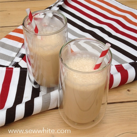 Sew White coffe milkshake 1